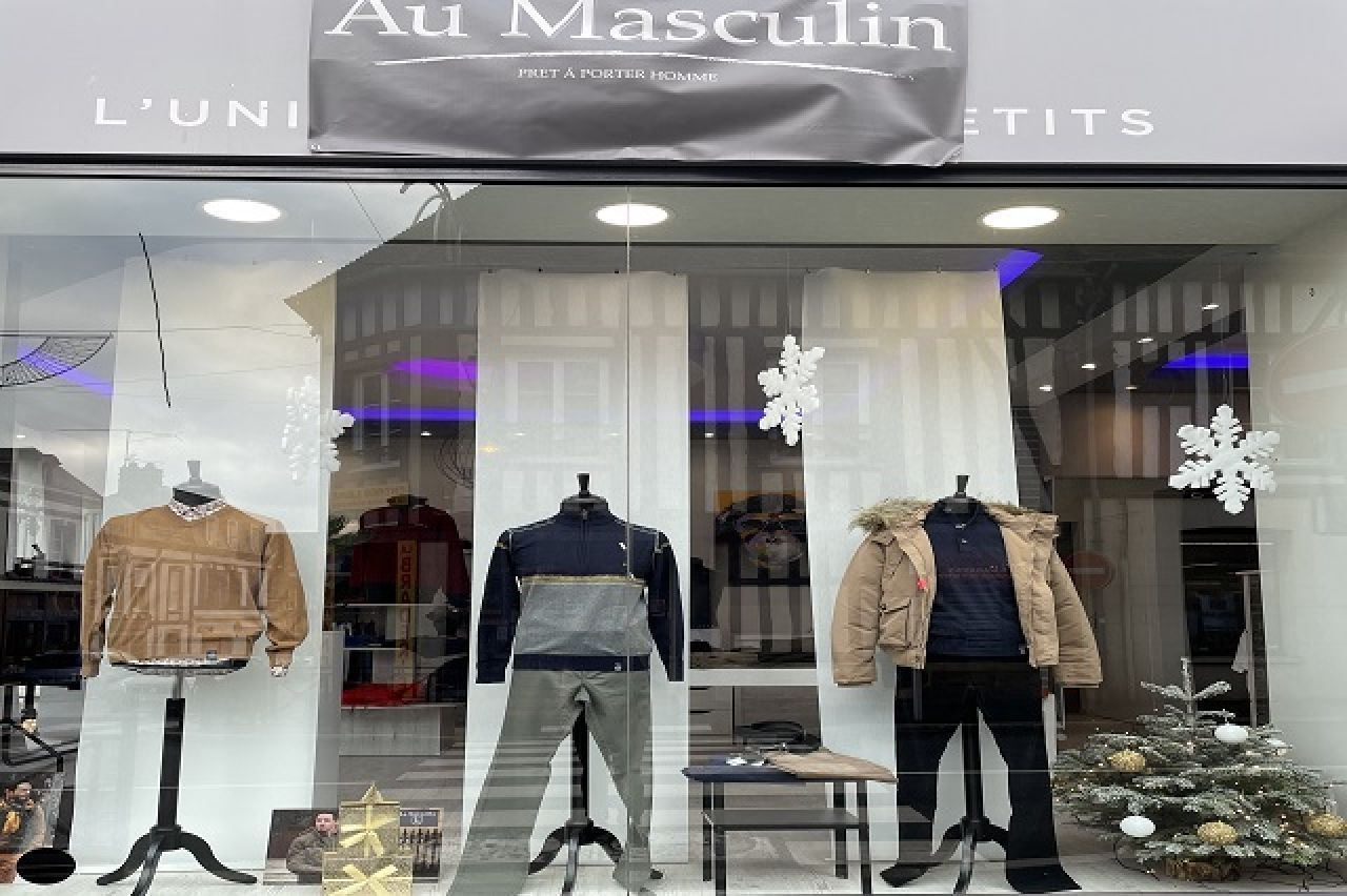 AU MASCULIN - Click and Collect