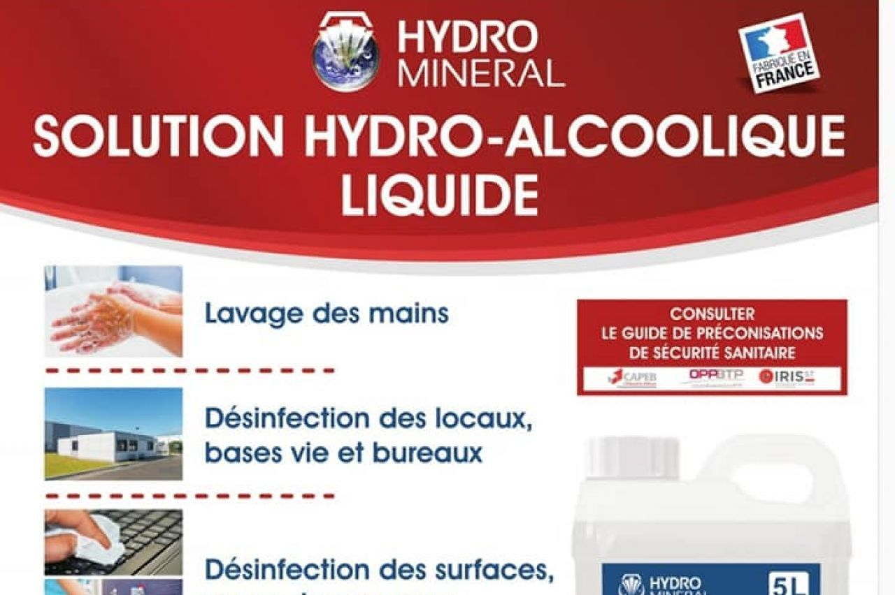 BEDOUET CARRELAGE -  Solution Hydro Alcoolique